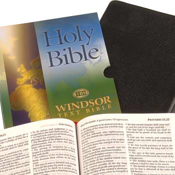 Picture of Windsor Text Bibles