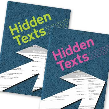 Picture of Hidden Text Books