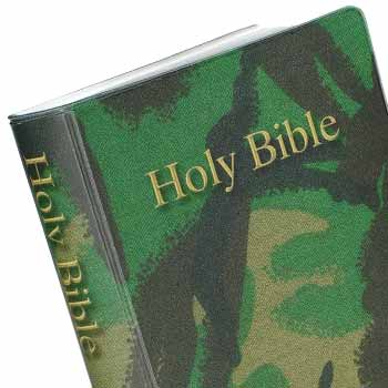 Picture of a Camouflage Bible