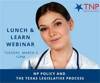 NP Policy & the Texas Legislative Process Webinar Part 1