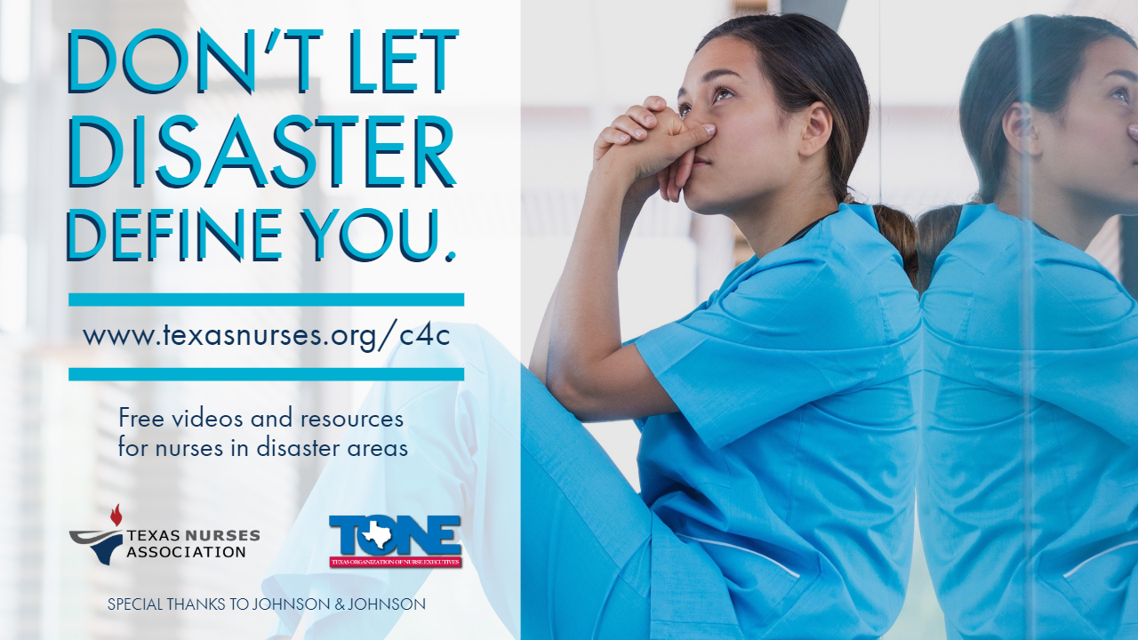 Don't let disaster define you. Get free resources with Care for the Caregiver