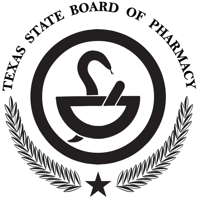 Texas State Board of Pharmacy logo