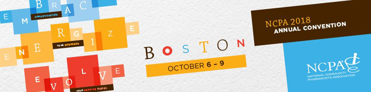 NCPA Annual Convention, Boston, Oct 6-10