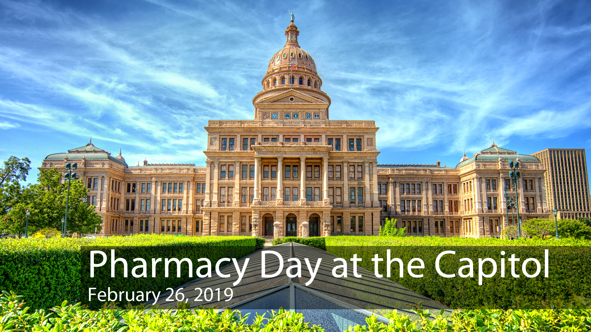 Pharmacy Day at the Capitol: Feb. 26, 2019