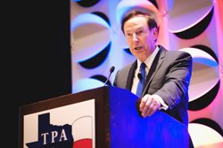 Steve Anderson of NACDS speaks at the 2018 TPA Conference