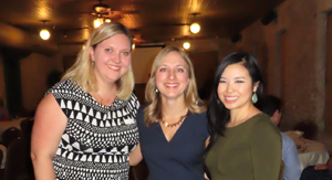 CAPA Past President Crystal Riggs, President Amanda Stallings, and Immediate Past President Jenny Dau