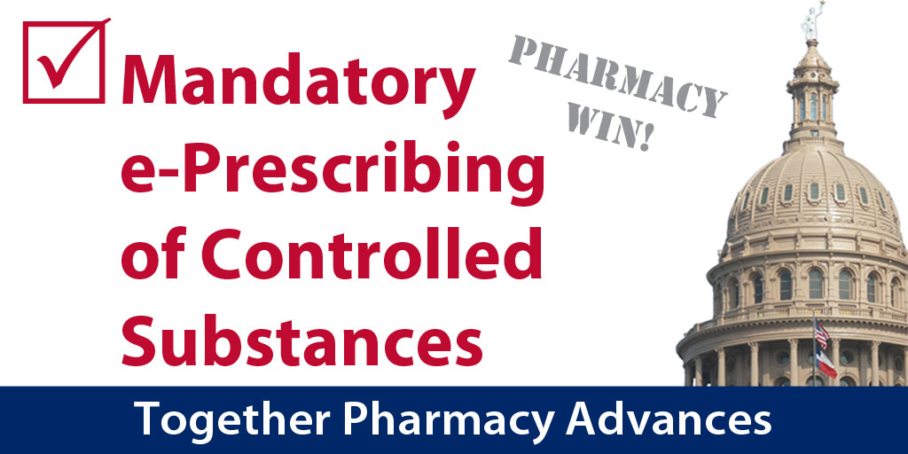 Mandatory electronic prescribing of controlled substances in Texas