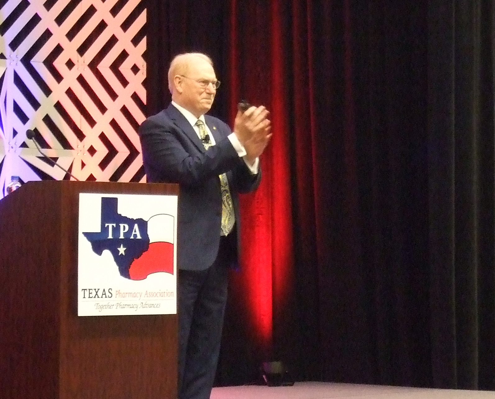 Tom Menighan speaks at the 2019 TPA Conference