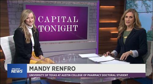 Mandy Renfro discusses Naloxone on Spectrum News