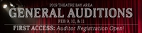 2019 General Auditions Auditor Registration