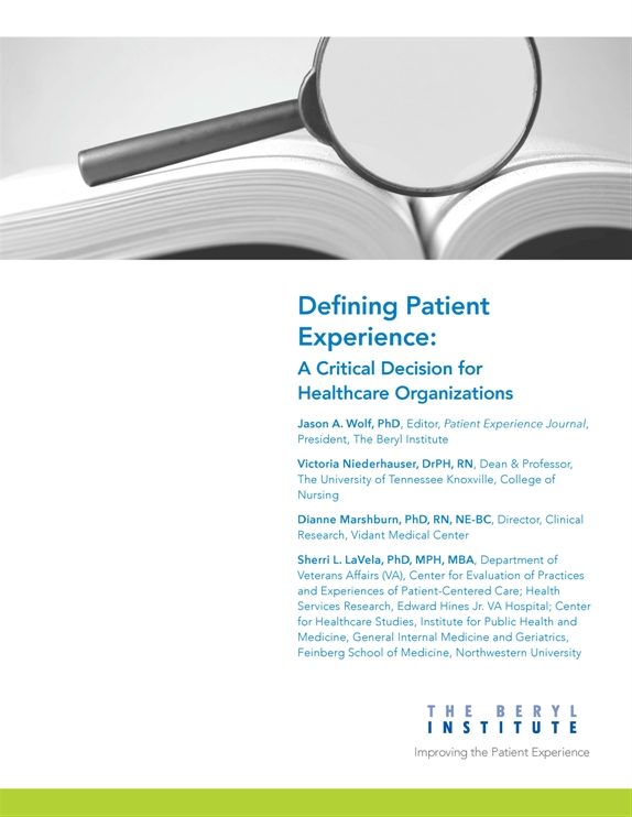 Patient Family Engagement Resources The Beryl Institute
