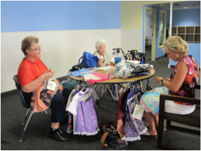 The Back to School Sewing and Knitting Group