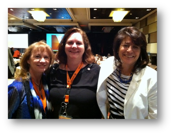 Tracy Sklar, SVP Quality, Sandra Rush, Director, Patient Experience, and Laurie Schwartz, Ministry Transformation Coordinator