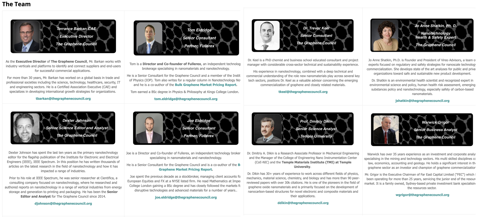 Graphene Updates - The Graphene Council