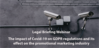 Legal Briefing Webinar: GDPR and the Covid-19 Effect