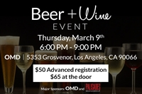 PARTNERED EVENT: Ad Relief's Beer & Wine Tasting