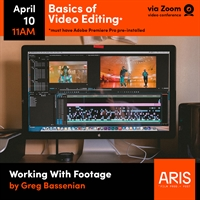 Basics of Video Editing, Three-Part Online Course