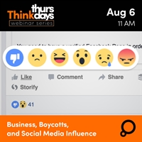 Webinar: Business, Boycotts, and Social Media Influence