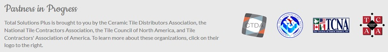 national tile contractors association reference manual