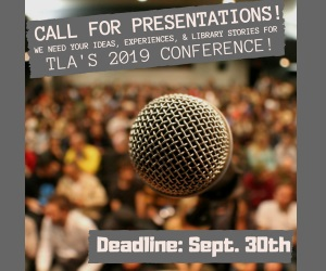 Submit your proposal for TNLA 2019!