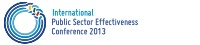 TOCICO International Public Sector Effectiveness Conference 2013