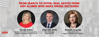 From Search to Offer: Real Advice from UHV Alumni Who Make Hiring Decisions