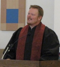 Installation of Rev. Andy Burnette