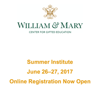 William & Mary Summer Institute