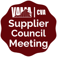 VAMA | CVA 10/6/2020 Supplier Council Meeting