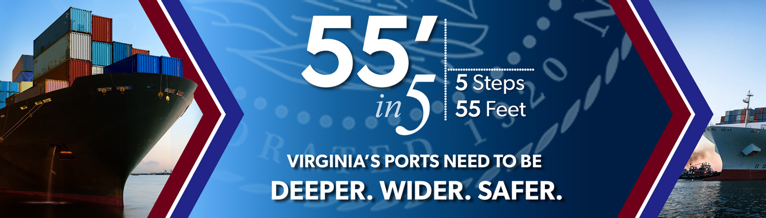 55 in 5 Deeper Wider Safer Ports