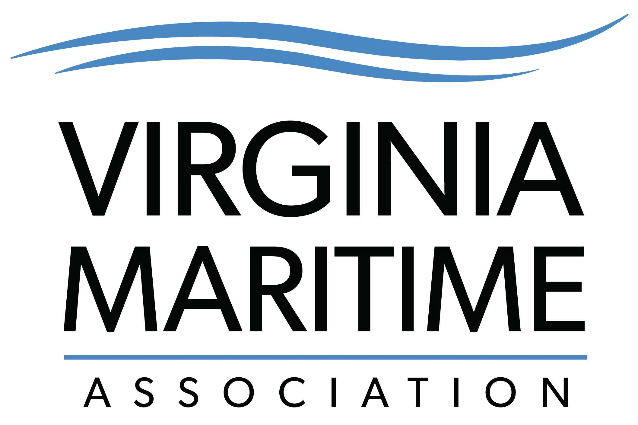 Virginia Maritime Association Stacked Logo