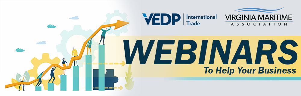 VEDP and VMA Present Webinars to help your business