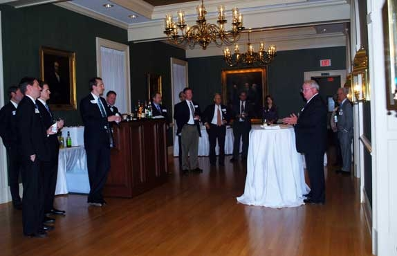 Clerk John Frey at 2014 VBA Real Estate Section Social