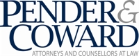 VBA Summer Meeting sponsor Pender & Coward, PC