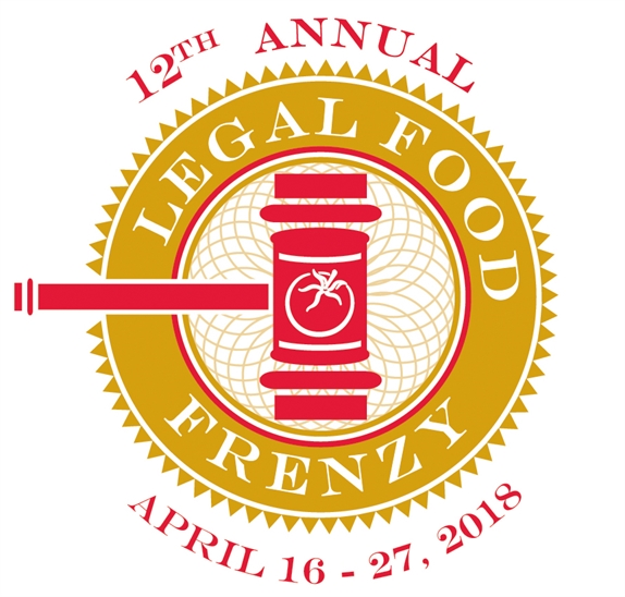 2018 Legal Food Frenzy logo