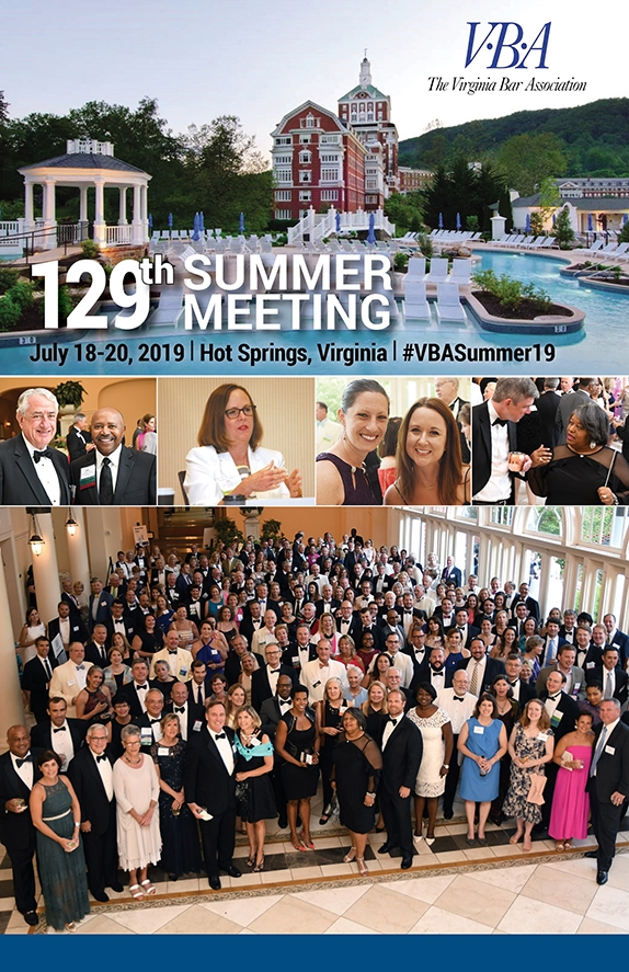 129th Summer Meeting brochure cover with link to the meeting program in PDF