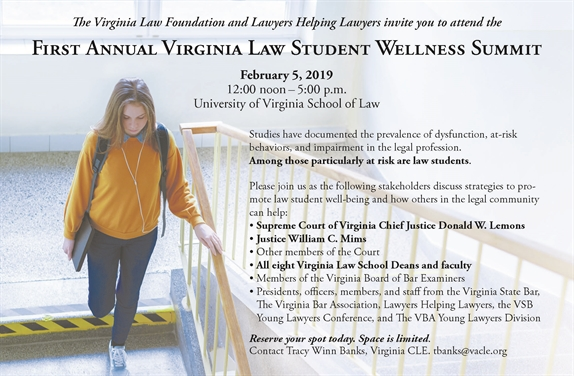 Virginia Law Student Wellness Summit