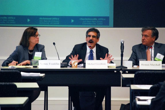 Virginia Health Care Practitioners' Roundtable panel, 2015