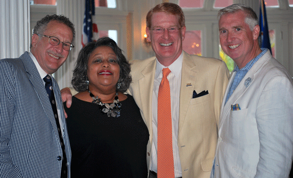 2015LexisNexis Award reception-EdWeiner Helivi Holland Pete Johnson Jim Guy
