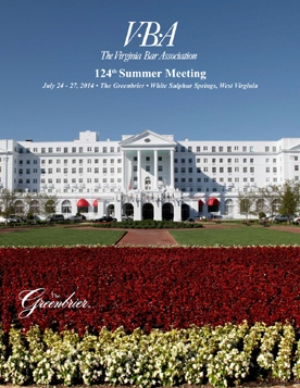 2014 VBA Summer Meeting Program Brochure