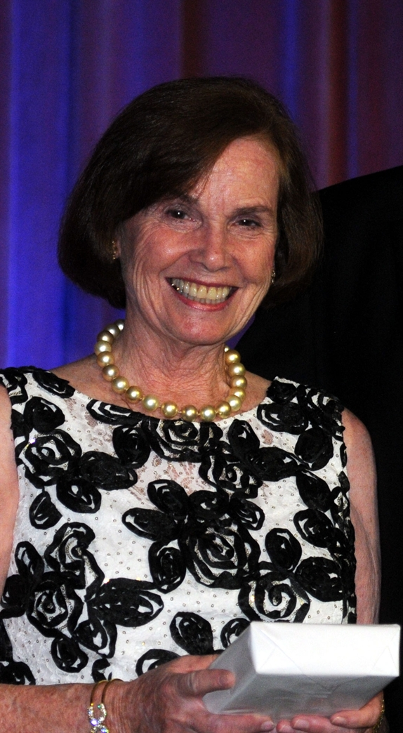 Jeanne F. Franklin, recipient of William B. Spong Jr. Professionalism Award