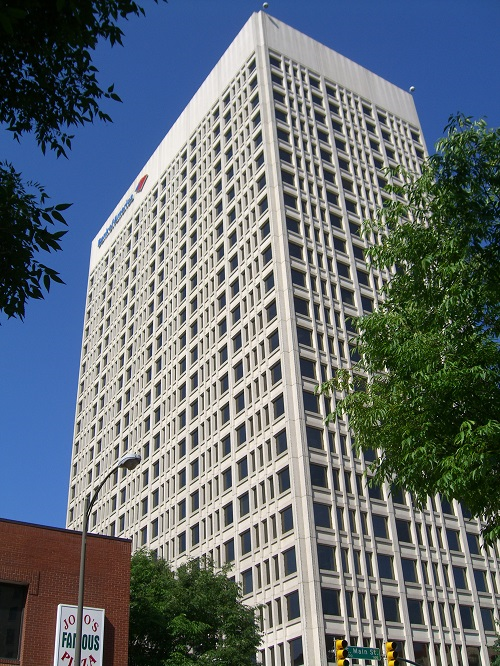 Bank of America Center, image courtesy of CBRE