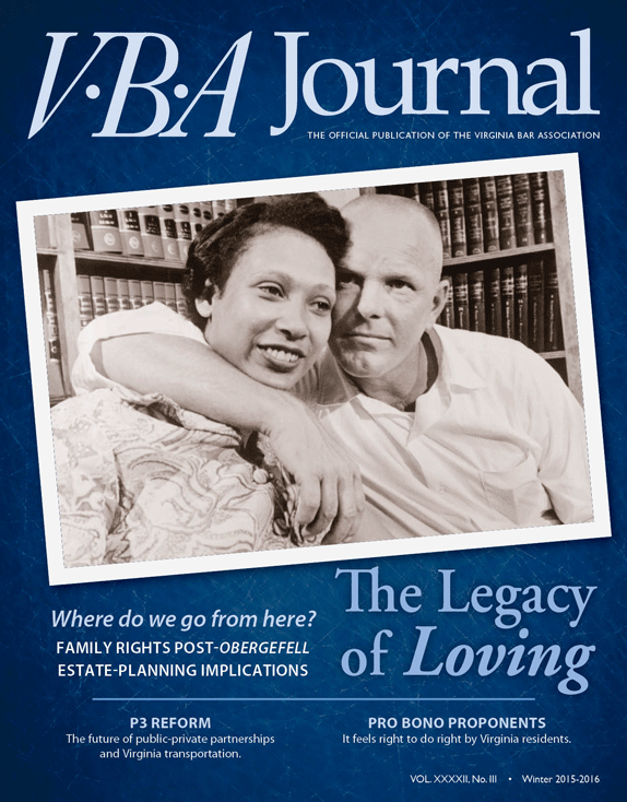 VBA Journal Winter 2015-16