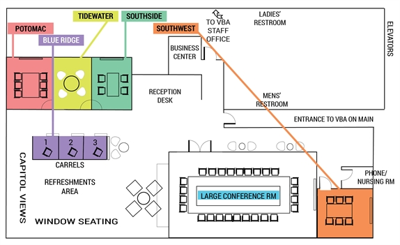 VBA on Main floor plan