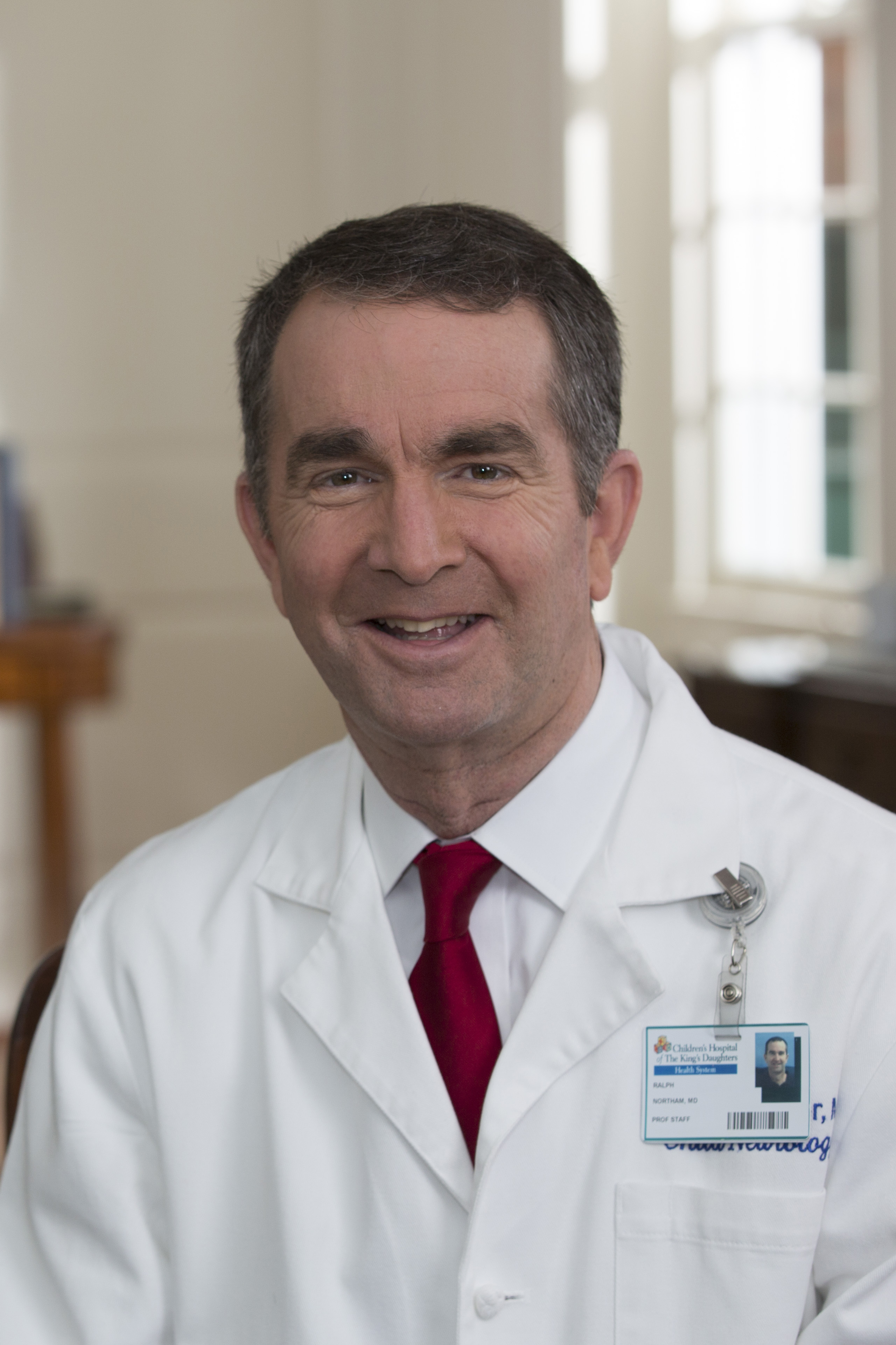 Ralph S. Northam, candidate for Virginia governor