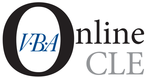 Need CLEs when YOU want them? VBA Online CLE has it covered.