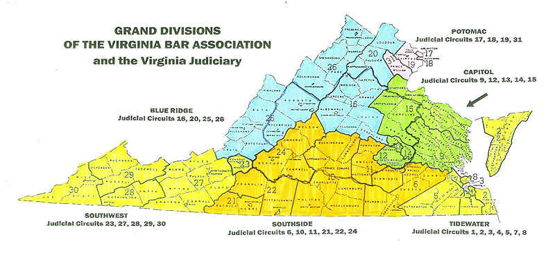 Grand Divisions of The Virginia Bar Association