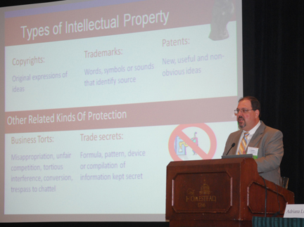 Charley Macedo of Amster Rothstein & Ebenstein LLP speaks on IP due diligence at the 2011 VBA Summer Meeting.