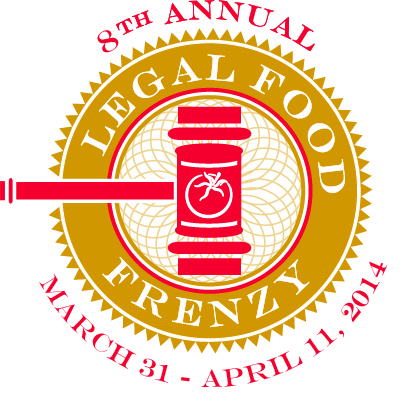 Legal Food Frenzy 2014 logo