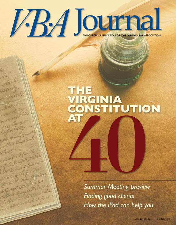 VBA Journal Spring 2012